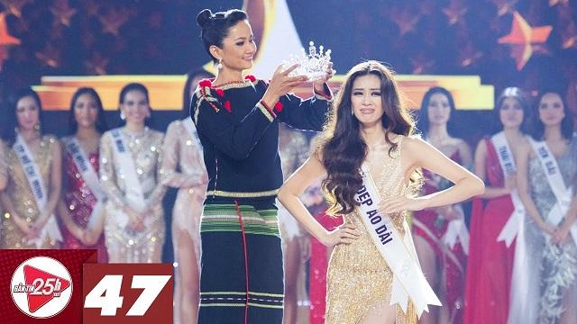 Khánh Vân đăng quang Hoa hậu hoàn vũ, H'hen Niê chân trần trao vương miện