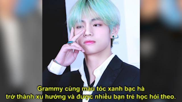 V (BTS) và dàn sao Hàn lên đời nhan sắc nhờ nhuộm tóc xanh lá cây