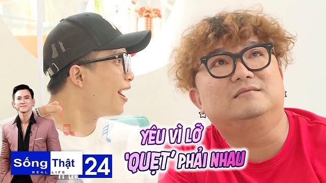 """Sống Thật–Real Life Tập 24: Cặp đôi Mập-Lùn với tình yêu màu hường, yêu vì lỡ """"quẹt"""" phải nhau"""