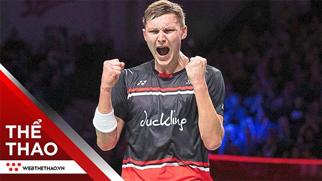 Viktor Axelsen vô địch cầu lông Toàn Anh