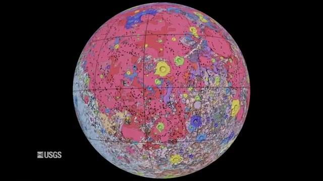 Công bố bản đồ 3D Mặt Trăng chi tiết nhất từ trước tới nay