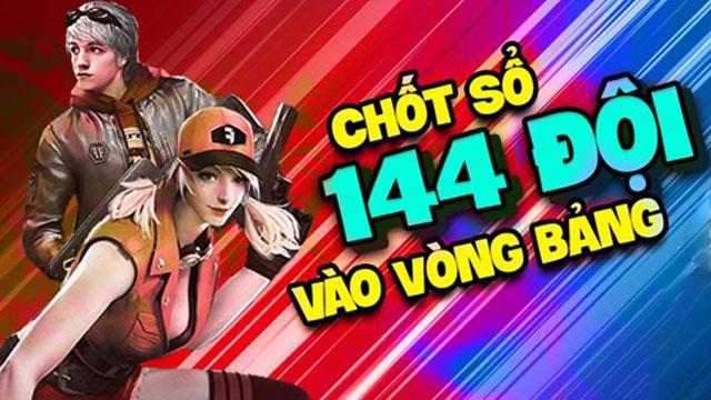 Chính thức công bố 144 đội tuyển tham gia tranh tài tại Mocha Free Fire Fight
