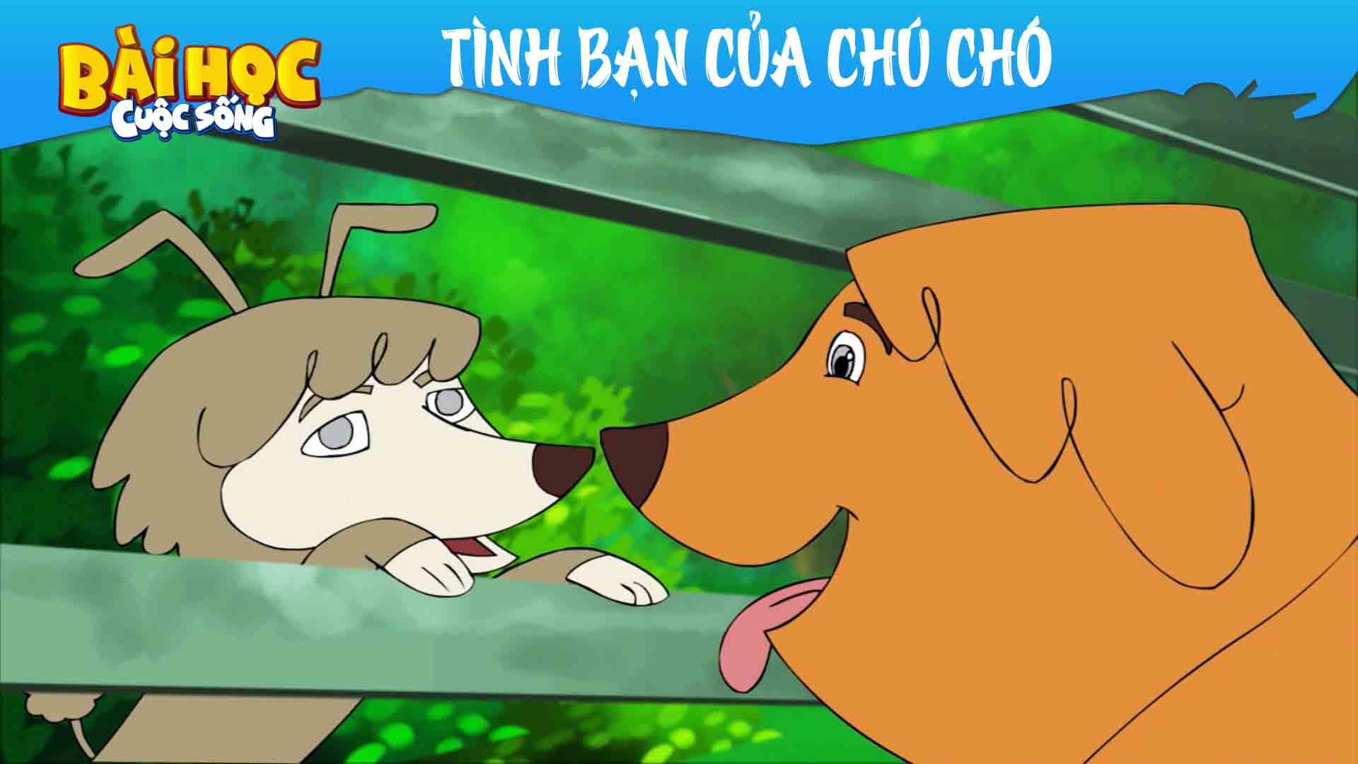 Tình bạn của chú chó - phim hoạt hình hay 2020