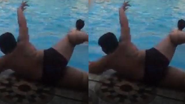 Khi doremon đi bơi