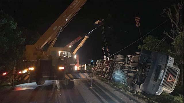 Khởi tố lái xe container gây tai nạn làm 3 người chết