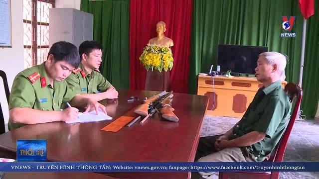 Thanh Hoá bắt đối tượng chuyên chế tạo súng