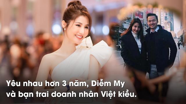 Yêu nhau hơn 3 năm, Diễm My và bạn trai doanh nhân Việt kiều được khán giả ủng hộ.