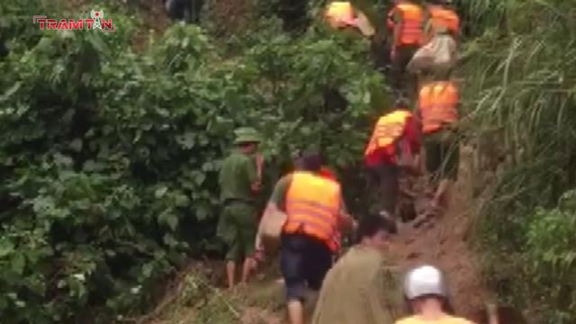 Đã tìm thấy thi thể 6 người trong 1 gia đình bị sạt lở núi